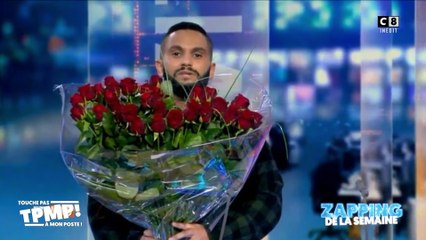 Malik Bentalha demande la chanteuse Angèle en mariage lors d'un journal télévisé en Belgique