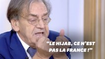 """Alain Finkielkraut estime que """"le hijab ce n'est pas la France"""""""