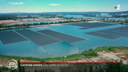 Énergie : la première centrale solaire flottante de France dévoilée dans le Vaucluse