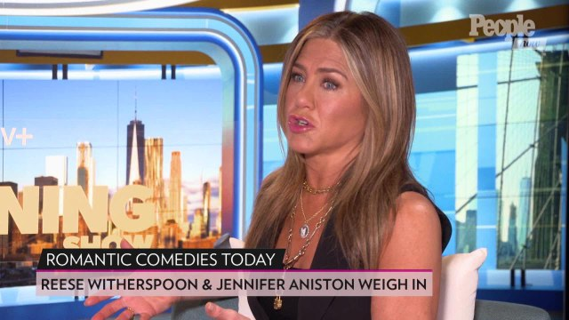 Jennifer Aniston & Reese Witherspoon Compare Romantic Comedies Today Versus in the '80s & '90s