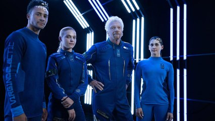 Richard Branson Reveals the Custom Spacesuits Spacesuits Passengers Will Wear