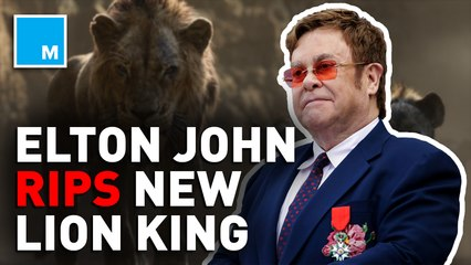 Elton John says 'Lion King' remake's soundtrack lost 'magic and joy'