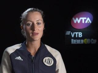 """Moscou - Mladenovic : """"Pour battre Kiki, il faut vraiment être solide"""""""