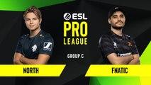CS-GO - Fnatic vs. North [Inferno] Map 2 - Group C - ESL EU Pro League Season 10