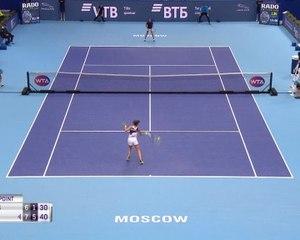 WTA Moscow: Bencic bt Flipkens (7-6 6-1)