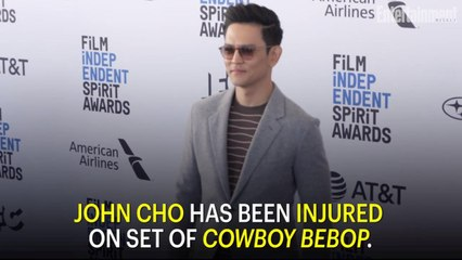 John Cho Injures Knee on Set of Cowboy Bebop, Shutting Down Production for 7-9 Months