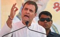 Under pressure' media shows Modi's speeches whole day: Rahul Gandhi | OneIndia News