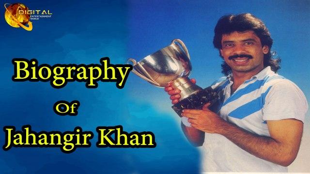 Jahangir Khan - A Former Squash Player - Biography - HD