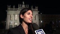 Raggi - Una nuova luce illumina la Basilica di San Giovanni in Laterano (18.10.19)