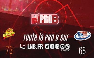 Matchs Officiels 19-20 - PRO B : Vichy-Clermont vs Rouen (J2)