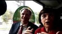 Mireille Mathieu lance le tramway d'Avignon