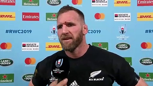 All Blacks skipper Kieran Read talks about his sides win over Ireland