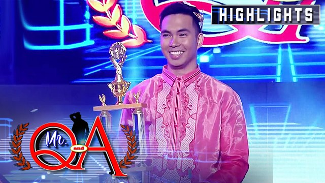 Paul Maawa emerges as the newest Mr. Q and A | It's Showtime Mr. Q and A