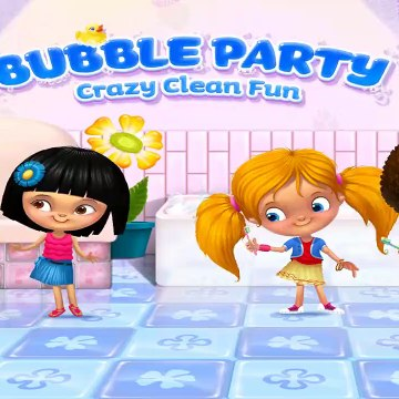 Fun Bath Time Bubble Party  Kids Learn Wash Hands, Brush Teeth Dressup Makeovers Games For Girls