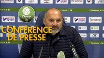Conférence de presse SM Caen - Valenciennes FC (0-0) : Pascal DUPRAZ (SMC) - Olivier GUEGAN (VAFC) - 2019/2020