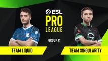 CS-GO - Team Liquid vs. Team Singularity [Inferno] Map 3 - Group C - ESL NA Pro League Season 10