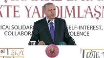 """Cumhurbaşkanı Erdoğan: """" Bir asır önce söylenen 'Bir damla petrol bir damla kandan daha önemlidir'..."""