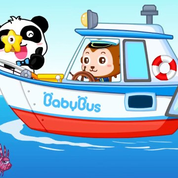 Baby Panda Learns Transport  Kids Learn The Common Transportion Vehicles  Babybus Kids Games
