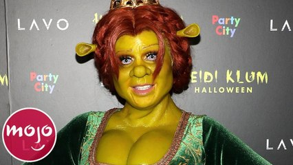 Top 10 Unforgettable Heidi Klum Halloween Costumes