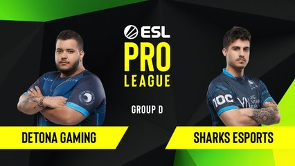 CS-GO - Detona Gaming vs. Sharks Esports [Dust2] Map 2 - Group D - ESL NA Pro League Season 10