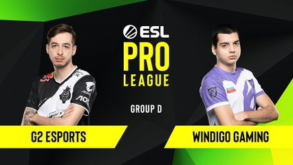 CS-GO - G2 Esports vs. Windigo Gaming [Mirage] Map 1 - Group D - ESL EU Pro League Season 10