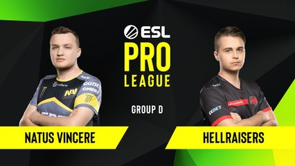 CS-GO - HellRaisers vs. Natus Vincere [Dust2] Map 2 - Group D - ESL EU Pro League Season 10