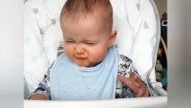 Ce bébé s'entraîne au Haka comme les AllBlacks de la Nouvelle Zélande