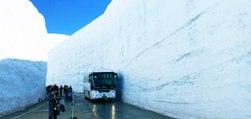 Voici la route la plus enneigée du monde, digne de Game of Thrones