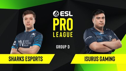 CS-GO - Sharks Esports vs. Isurus Gaming [Inferno] Map 2 - Group D - ESL NA Pro League Season 10