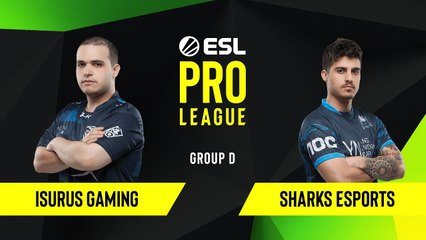 CS-GO - Sharks Esports vs. Isurus Gaming [Nuke] Map 1 - Group D - ESL NA Pro League Season 10