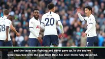Spurs deserved controversial Alli goal - Pochettino