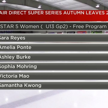 Star 5 Women U13 Group 2 - 2019 Belair direct Super Series Autumn Leaves - Rink 2 (33)
