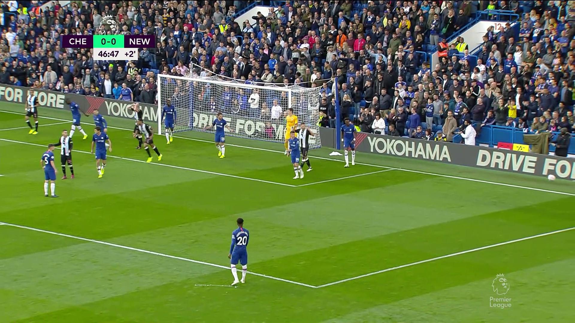 9. Hafta / Chelsea - Newcastle Unt: 1-0 (Özet)