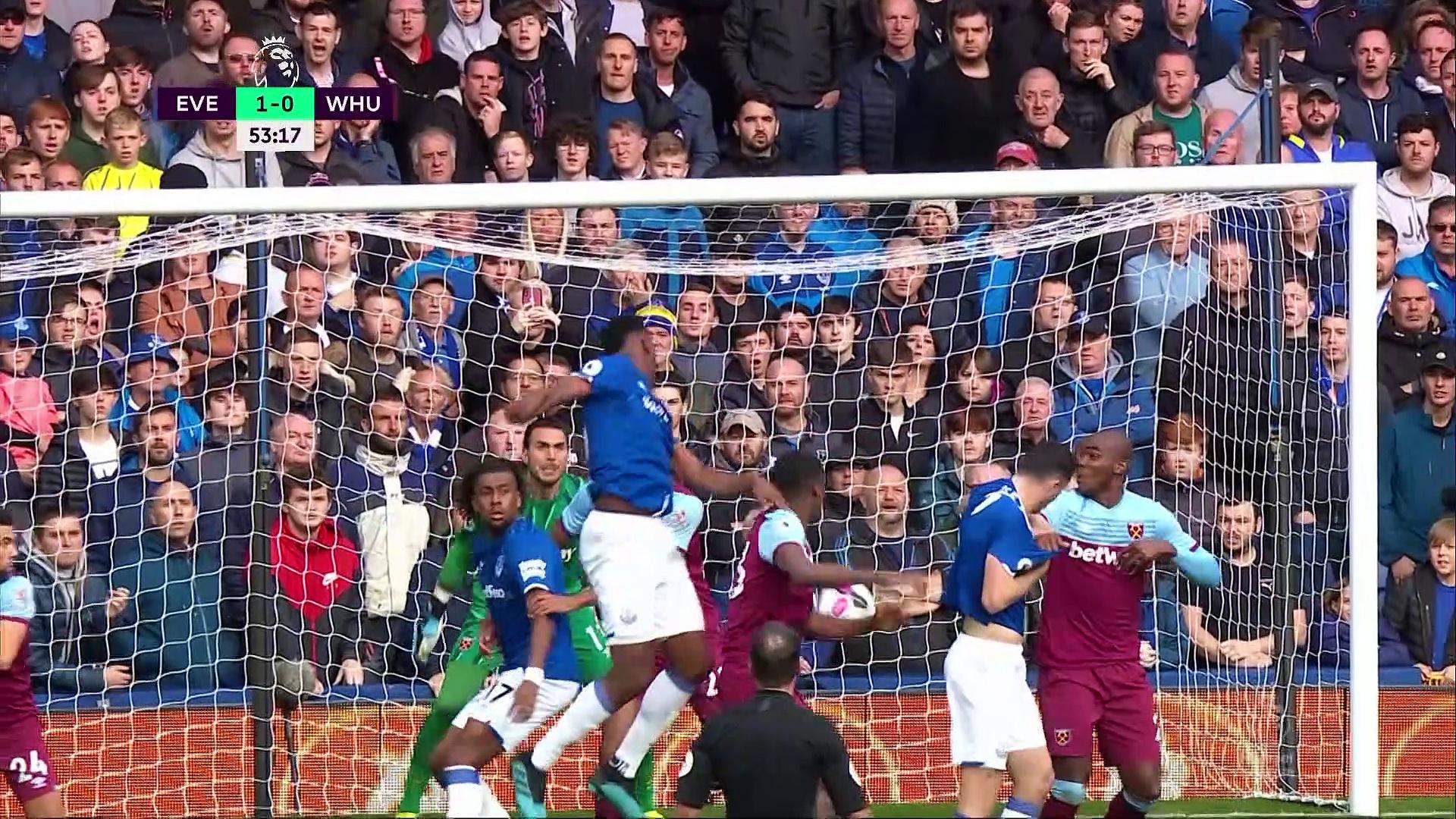 9. Hafta / Everton - West Ham: 2-0 (Özet)