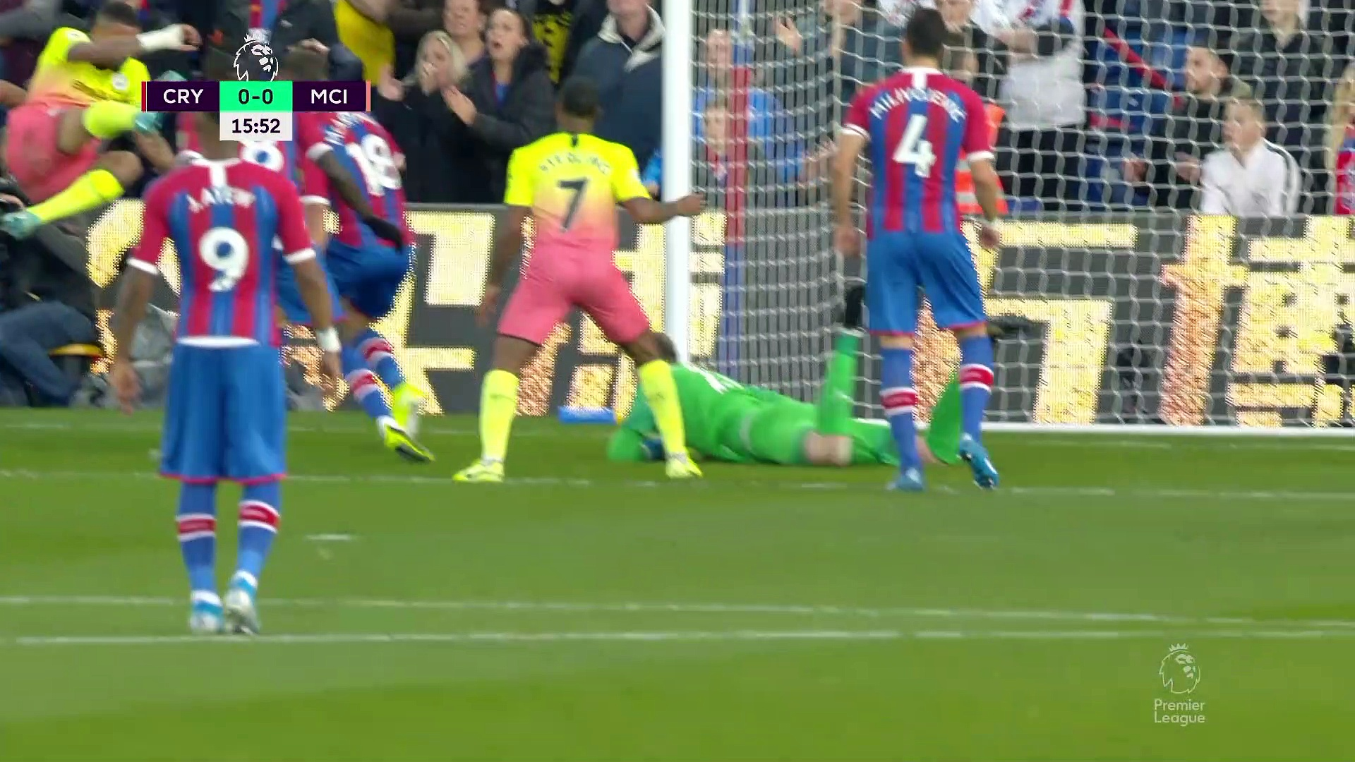 9. Hafta / Manchester City - Crystal Palace: 2-0 (Özet)