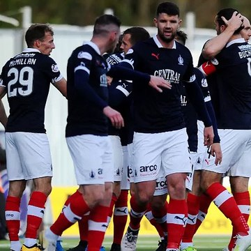 Falkirk 4-0 Peterhead Ray McKinnon reaction