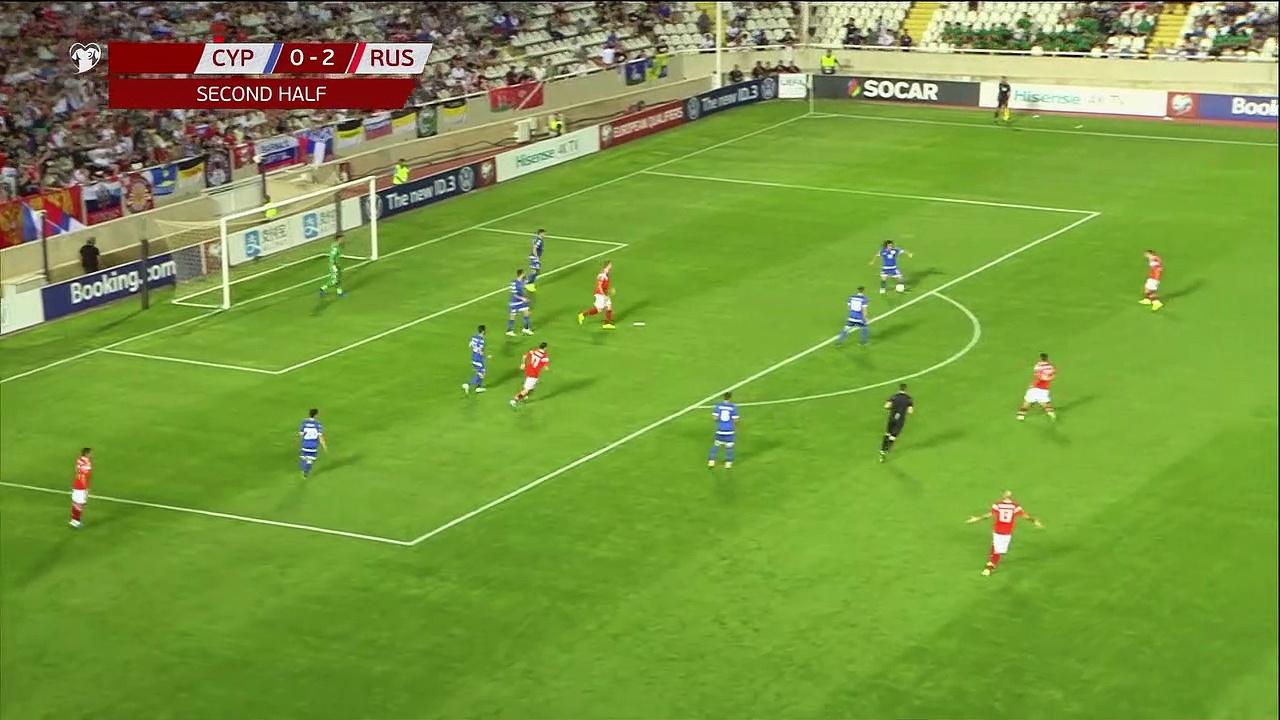 8. Hafta / Güney Kıbrıs - Rusya: 0-5 (Özet)