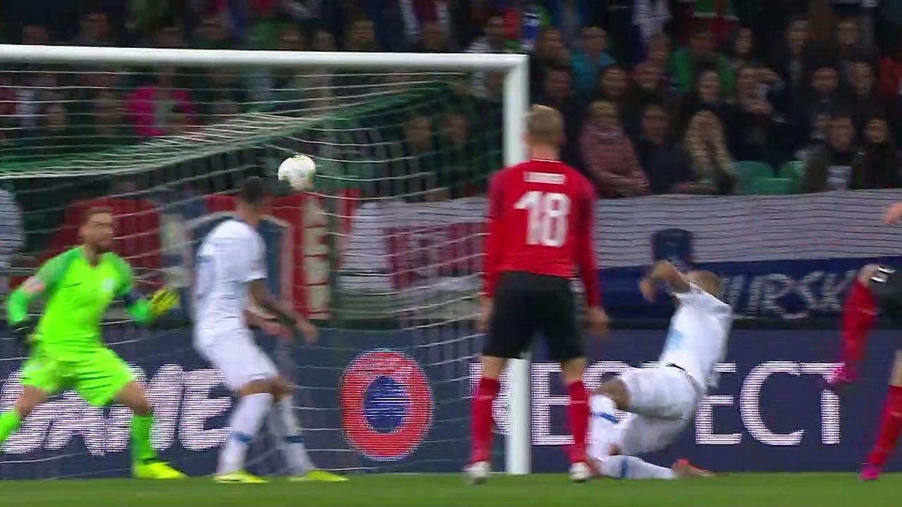 8. Hafta / Slovenya - Avusturya: 0-1 (Özet)