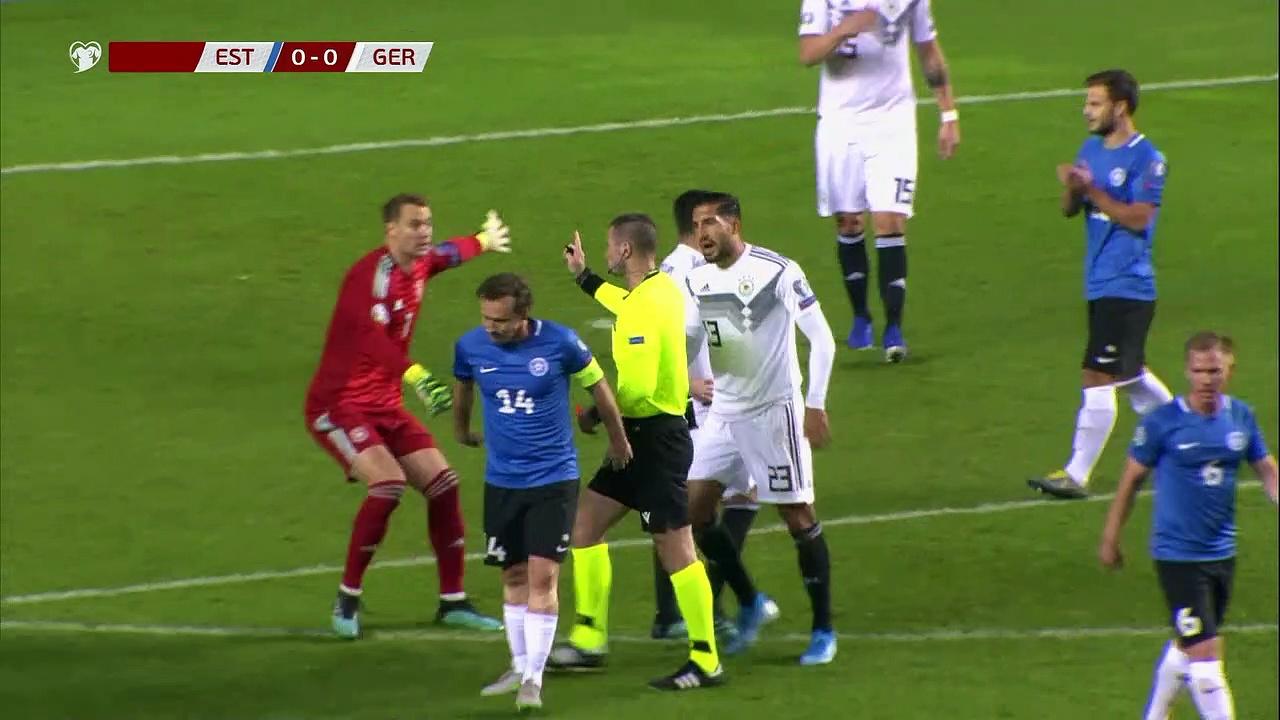 8. Hafta / Estonya - Almanya: 0-3 (Özet)