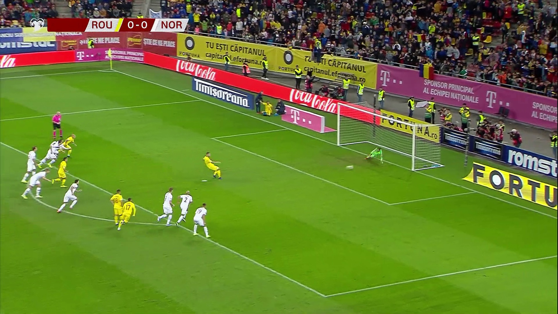 8. Hafta / Romanya - Norveç: 1-1 (Özet)