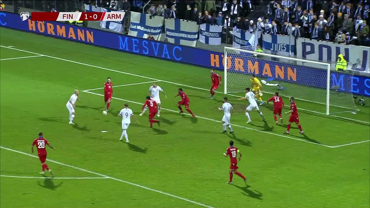8. Hafta / Finlandiya - Ermenistan: 3-0 (Özet)