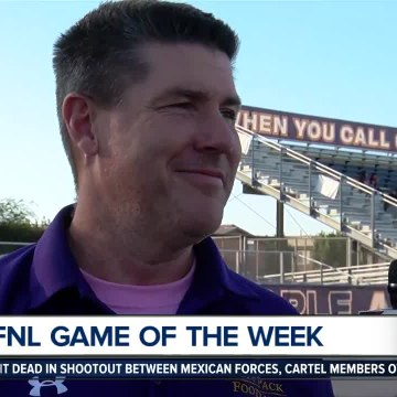 Live interview with Ridgeview Head Coach Rich Cornford ahead of hosting BCHS