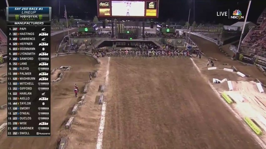2019 Monster Energy Cup Race 1 Futures