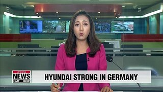 Hyundai Motor's market share in Germany hits new high