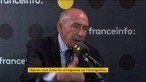 """Port du voile : """"Le président doit s'exprimer sur la laïcité"""", dit Gérard Collomb"""