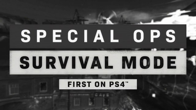 Call of Duty Modern Warfare  - Tráiler Survival Special Ops