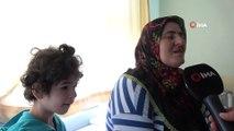 Yürüme ve konuşma engelli minik Elif'in dişi çekildikten sonra sinüs kanseri olduğu anlaşıldı