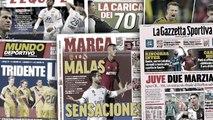 La défaite du Real Madrid fait grand bruit en Espagne, CR7 et Buffon encensés en Italie