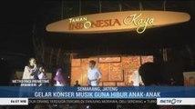 Rayakan Hari Jadinya, Taman Indonesia Kaya di Semarang Gelar Konser Musik
