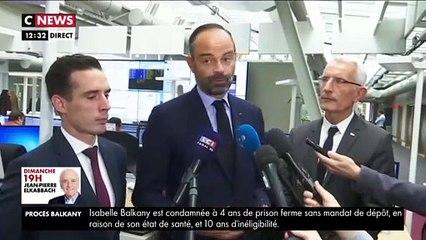 Trafic perturbé à la SNCF: Edouard Philippe dénonce un «détournement du droit de retrait»